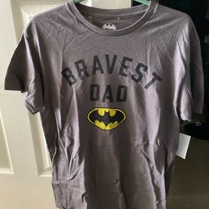 Bravest dad Batman t shirt new with tags